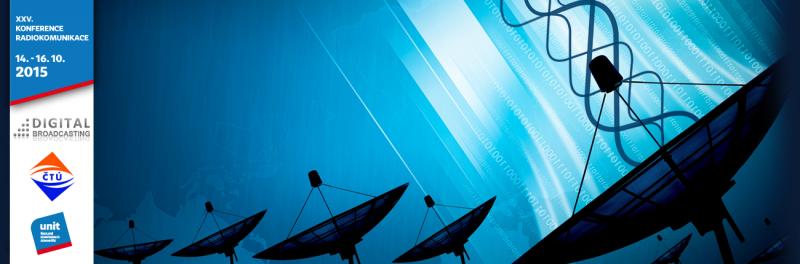 XXV. Konference RADIOKOMUNIKACE 2015